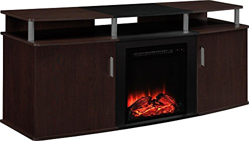 Best Electric Fireplace TV Stand - Ameriwood Home Carson Electric Fireplace TV Console