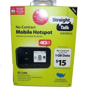 Straight Talk ZTE Z289L Hotspot