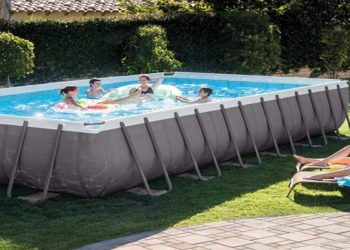 intex pools rectangular ultra frame