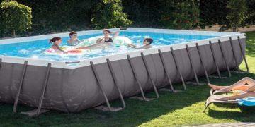 intex pools rectangular ultra frame