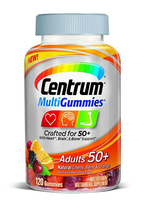 Centrum MultiGummies Adults 50+