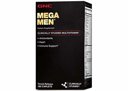 GNC Mega Multivitamin For Men Over 50