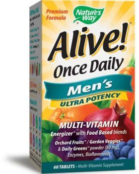 Nature's Way Alive! Once Daily Multivitamin For Men Over 50