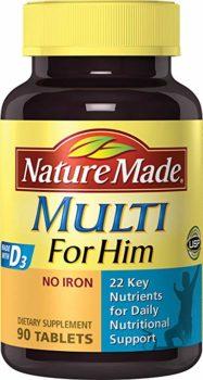 Nature Made Multivitamin For Men Over 50