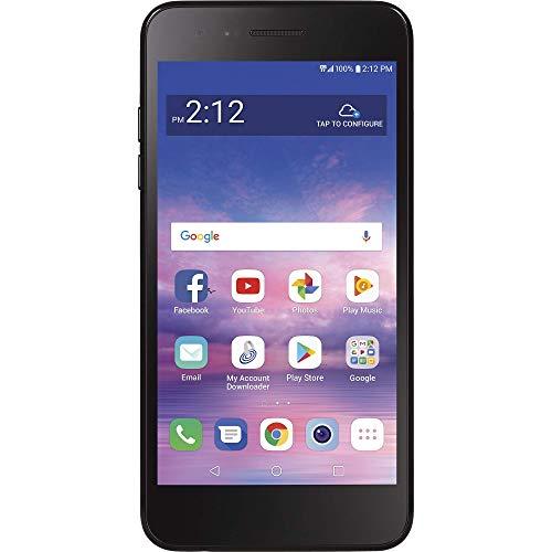 TracFone LG Rebel 4 LTE Prepaid Smartphone