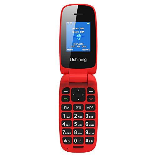 Ushining Unlocked Flip Cell Phone For Seniors