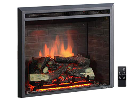 PuraFlame 26-Inches Western Electric Fireplace