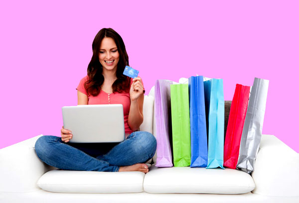 shop online with checking account number