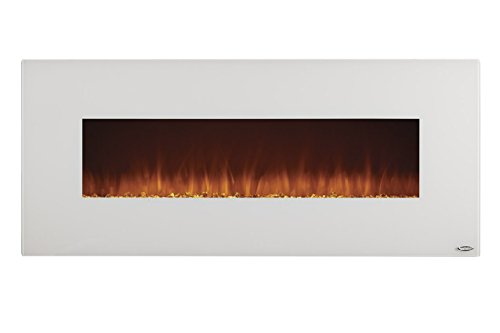 Touchstone Ivory Wall-Hanging Heated Electric Fireplace