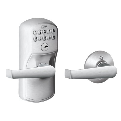 Schlage FE575 PLY 626 Plymouth Keypad Entry with Auto-Lock