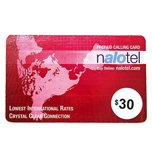 Nalotel Prepaid Phone Card $30