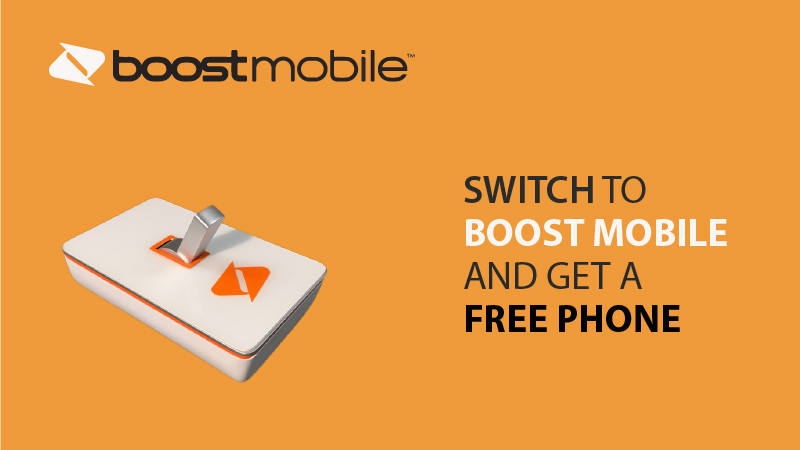 Switch To Boost Mobile And Get A Free Phone