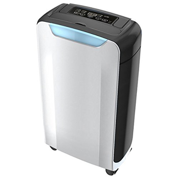 Eurgeen Compact 20 Pint Portable Dehumidifier with Humidity Sensor