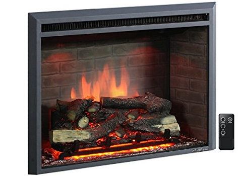 PuraFlame 30 Inches Western Electric Fireplace Insert