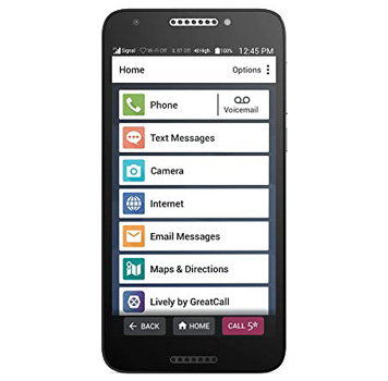 The Jitterbug Smart2 Easy to Use Smartphone by GreatCall