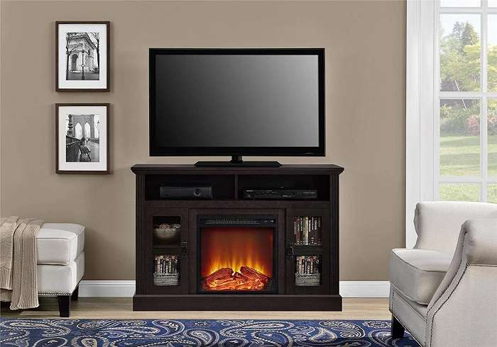 Top 15 Corner Fireplace Tv Stand Reviews Of 2020