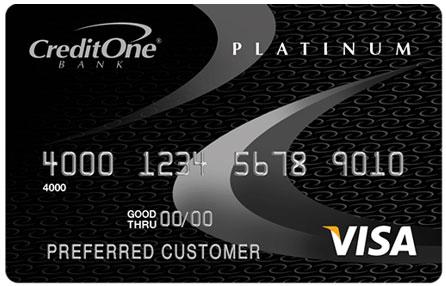 Credit One Bank Visa Card - balance transfer credit cards for bad credit