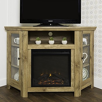 Home Accent 4 Foot Wide Corner Fireplace