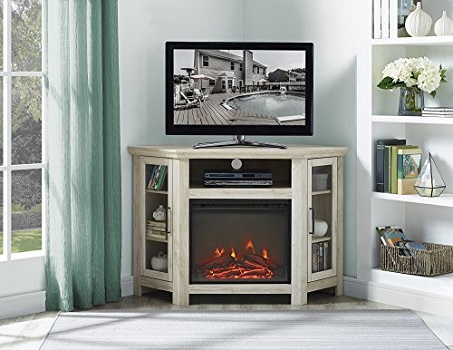 Home Accent 48 Inch Wide Corner Electric Fireplace