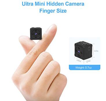 MHDYT Mini Spy Camera Wireless