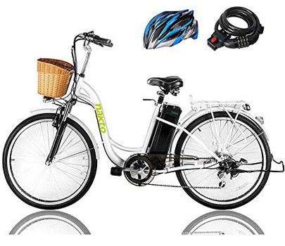 "Nakto 26"" Cargo electric bike"