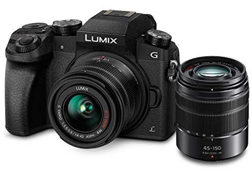 PANASONIC Lumix G7 4K Digital Mirrorless Camera