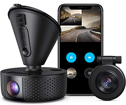 VAVA Dual front and Rear dash camera