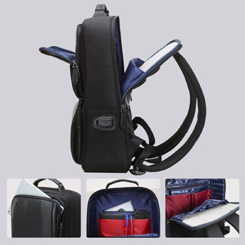 BOPAI Business Backpack With USB Charging Port and Anti-Theft