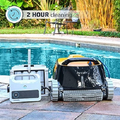Comparison Between Dolphin Nautilus CC Plus Automatic Robotic Pool Cleaner VS Dolphin Triton PS Automatic  Robotic pool cleaner