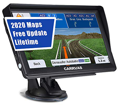 GPS Navigation for Car, Latest 2020 Map 7-inch Touch Screen Car