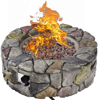 Giantex Gas Fire Pit Table