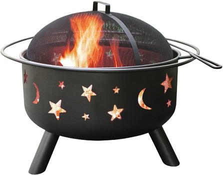 Landmann 28345 Big Sky Stars and Moons Fire Pit