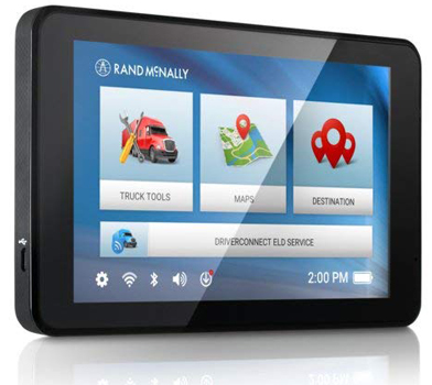 Rand McNally TND 740 IntelliRoute Truck Navigation GPS