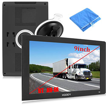 Xgody9-inch touchscreen Trucking GPS Bluetooth AV-IN GPS Navigation for car