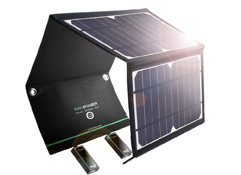 16-Watt RavPower Travel Solar Battery Charger