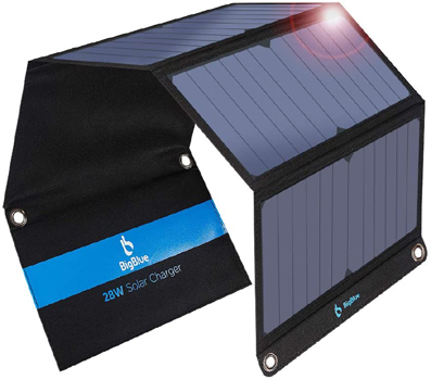 28-Watt BigBlue Travel Solar Charger