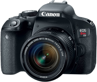 Canon EOS REBEL T7i - Best cameras for product photography