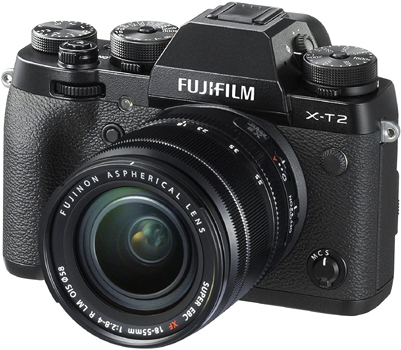 Fujifilm X-T2 - Best cameras for product photography