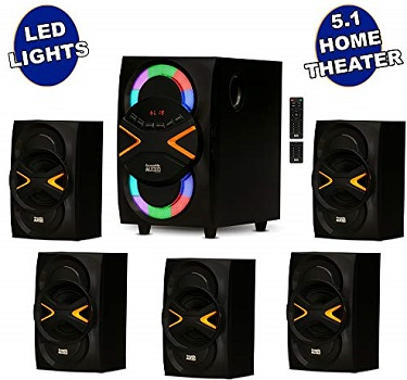 Acoustic Audio by Goldwood 5.1 Home Theater Speaker System