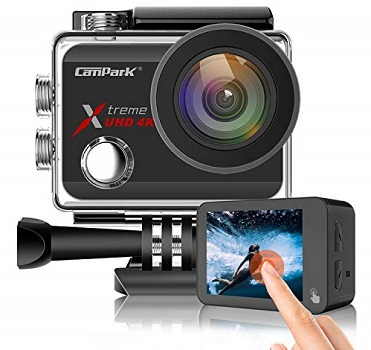 Campark X30 Action Camera Native 4K for filmmaking
