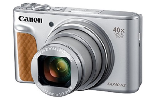 Canon PowerShot SX740 Digital Camera for filmmaking