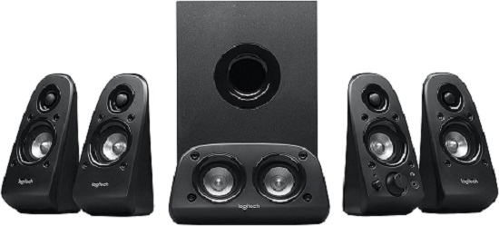 Best budget home theater systems - Logitech Z506 Surround Sound Home Theater Speaker System