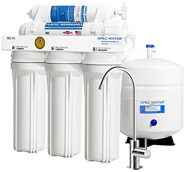 APEC RO-90 Reverse Osmosis Drinking Water Filter System