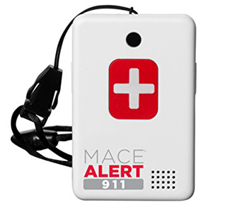 Mace Brand Alert 911 One Touch Direct Connection - Emergency Call Button For Seniors No Monthly Fee