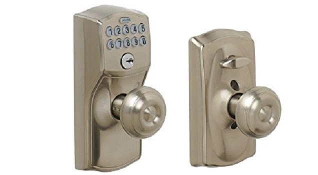 Schlage FE595 CAM 619 GEO Camelot Keypad Entry