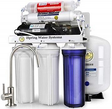 iSpring RCC7P-AK Reverse Osmosis Drinking Filtration System