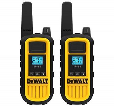 DEWALT DXFRS800 Long Range & Rechargeable Walkie Talkies