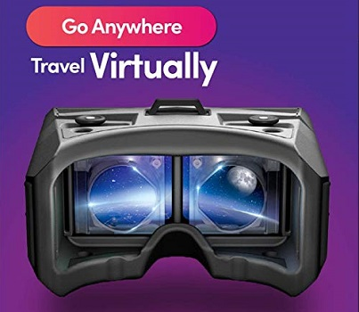 Merge VR Headset - Augmented and Virtual Reality Headset, Take Virtual Field Trips