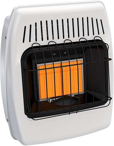 Best Ventless Propane Heater - Dyna-Glo IR12PMDG-1 Propane Infrared Vent-Free Wall Heater