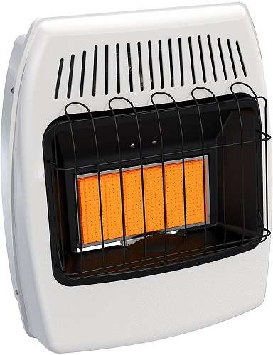 Best Ventless Propane Heater - Dyna-Glo IR18PMDG-1 Vent Free Wall Heater